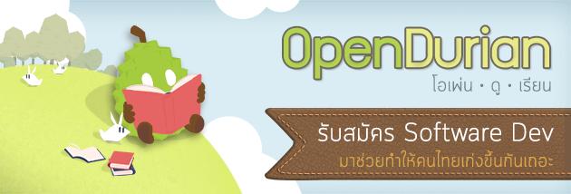 OpenDurian Software Developer Careers
